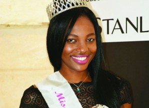 Beauty queen fundraises for pageant