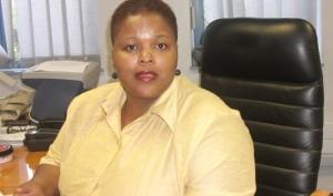 Nozisolo Mpopo, Roads Directorate's Public Relations Manager