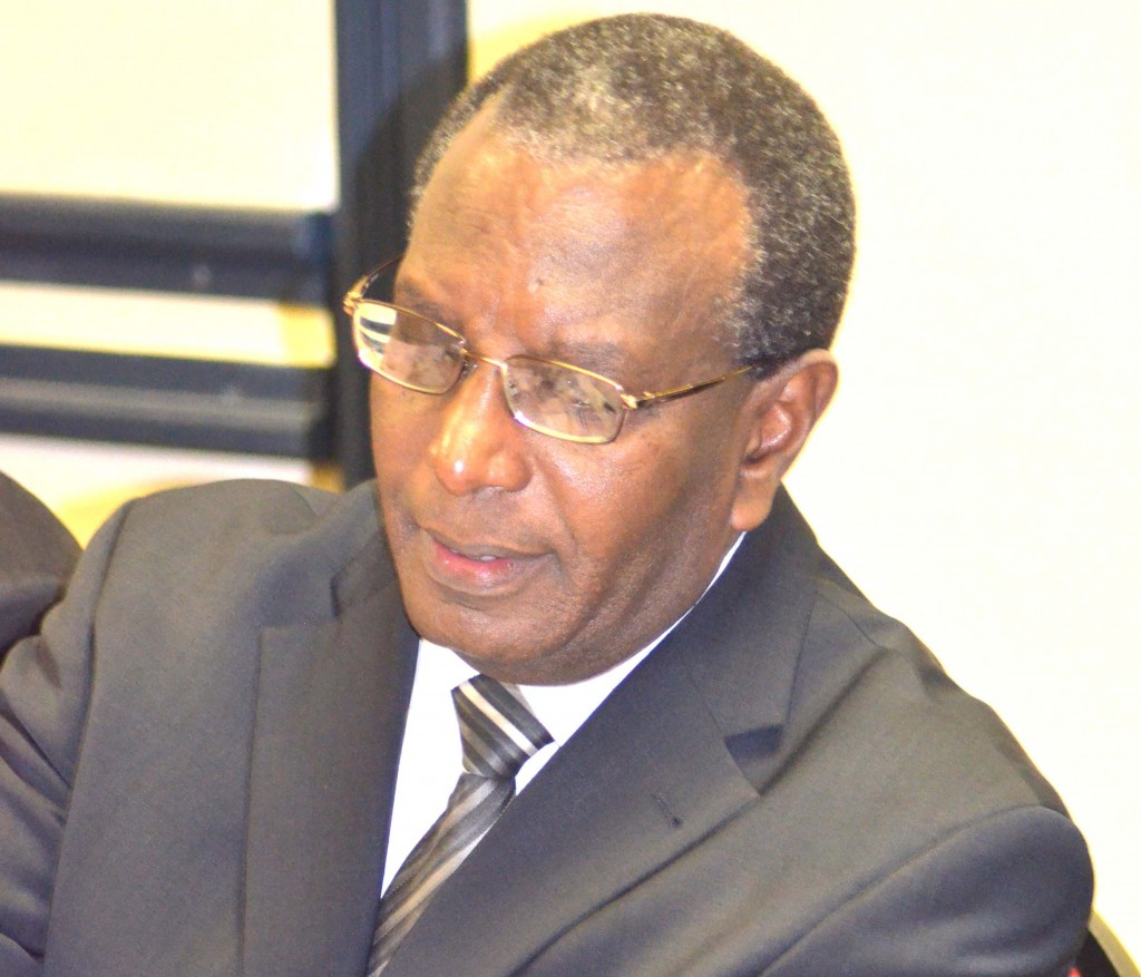 African Court on Human  and People's Rights judge Justice Gerard Niyungeko