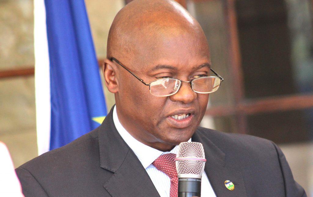 Minister of Foreign Affairs and International Relations Tlohang Sekhamane