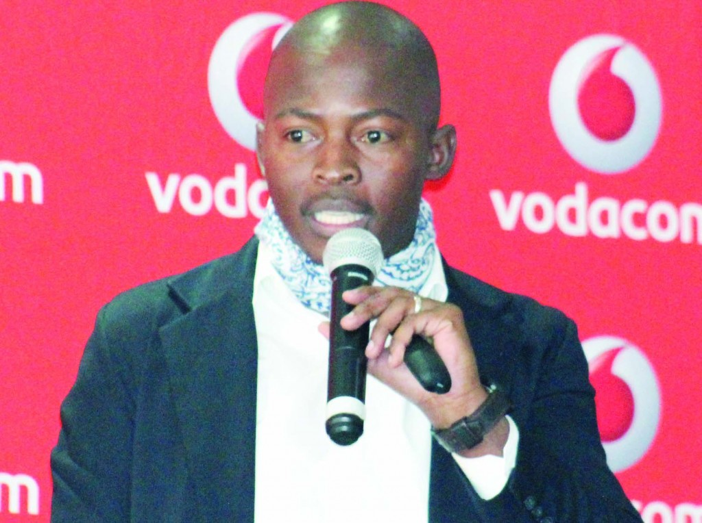 Vodacom Marketing specialist Seema Tsotetsi