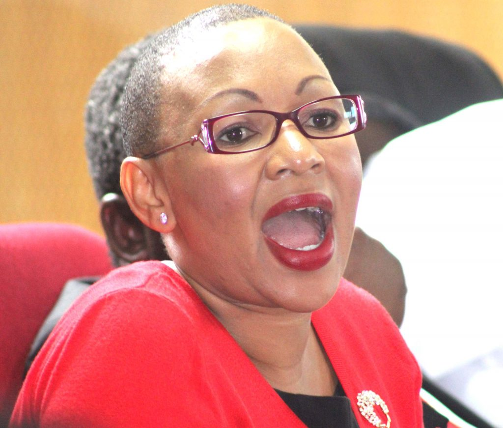 Parliament Committee's Chairperson Lineo Molise-Mabusela