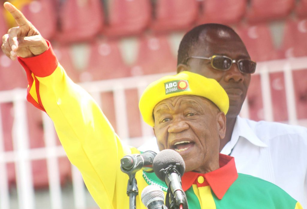 Leader of Main Opposition Party All Basotho Convention (ABC)  Thomas Thabane  (3)