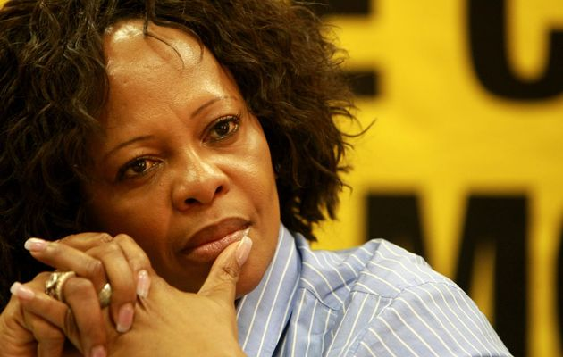 South Africa's Water Affairs and Sanitation Minister, Nomvula Mokonyane